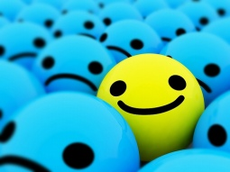 Everyone needs to be the yellow smiley.